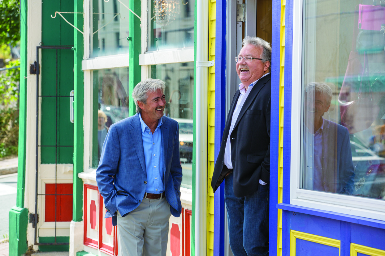 having-a-chat-in-downtown-st-johns-copyright-barrett-mackay-photo-courtesy-nl-tourism